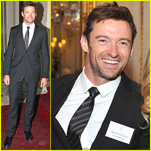 Hugh Jackman Meets The Queen at Buckingham Palace