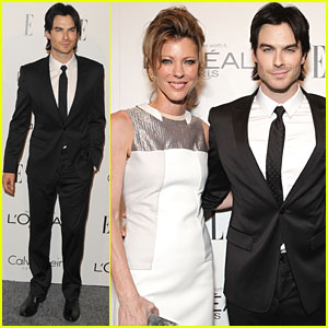 Ian Somerhalder: 'Elle' Women in Hollywood Tribute!
