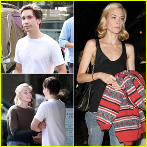 Jaime King & Justin Long: Earth Bar Meet-Up!