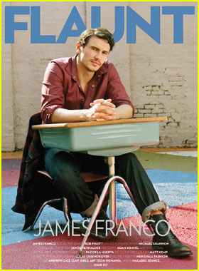 James Franco Covers 'Flaunt' Magazine