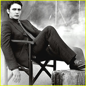 James Franco: Made to Measure with Gucci!