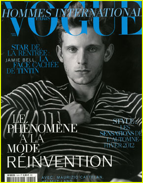 Jamie Bell Covers 'Vogue Hommes International'