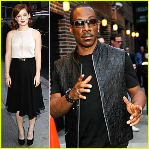 Jane Levy & Eddie Murphy: 'Late Show' with Letterman!