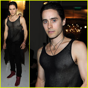 Jared Leto: YSL & Givenchy Fashion Shows!
