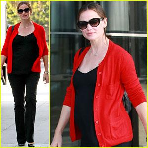 Jennifer Garner: Very Princess-y 'Breakfast Club' Reading