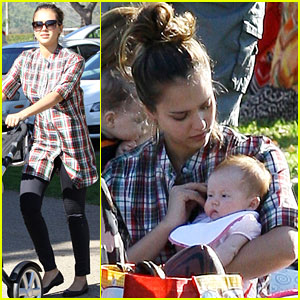 Jessica Alba & Cash Warren: Birthday Bash with the Girls!