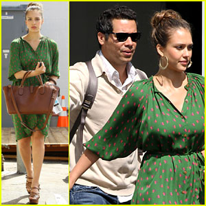 Jessica Alba &#038; Cash Warren: Santa Monica Studio Visit!