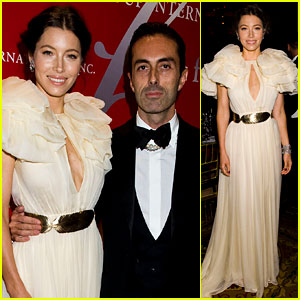 Jessica Biel: Fashion Group International's Night of Stars!