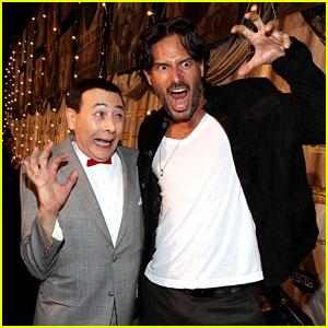 Joe Manganiello: Scream Awards with Pee-Wee Herman!