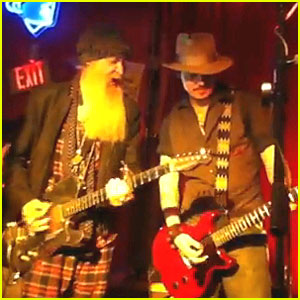 Johnny Depp: Surprise Texas Concert with ZZ Top Guitarist!