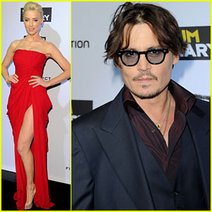 Johnny Depp & Amber Heard: 'Rum Diary' Premiere!