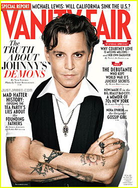 Johnny Depp Covers 'Vanity Fair' November 2011