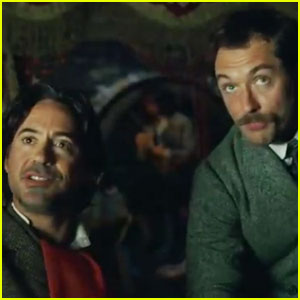 Robert Downey Jr & Jude Law: New 'Sherlock Holmes 2' Trailer!