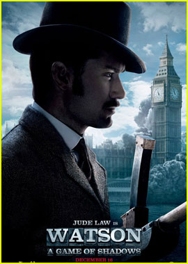 Jude Law: New 'Sherlock Holmes 2' Posters!