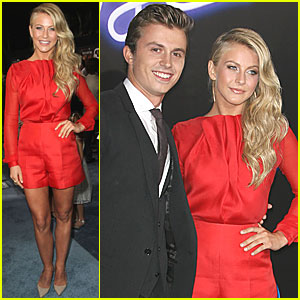 Julianne Hough: 'Footloose' Premiere with Kenny Wormald!