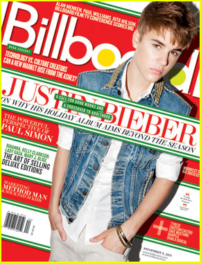 Justin Bieber Covers 'Billboard' Magazine