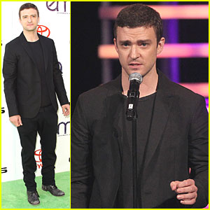 Justin Timberlake: EMA Futures Award Recipient