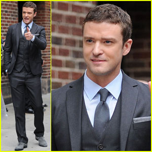 Justin Timberlake: 'In Time' for 'Letterman'!