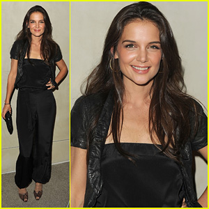 Katie Holmes: Giorgio Armani & Vanity Fair Private Dinner!