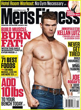 Kellan Lutz: Shirtless for 'Men's Fitness'  Cover!