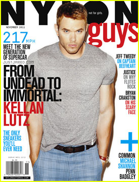 Kellan Lutz Covers 'Nylon Guys'