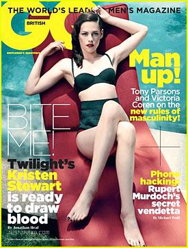 Kristen Stewart: Bikini Bod for GQ UK!