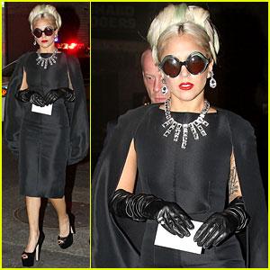 Lady Gaga Accepts the Big Man of the Year Award