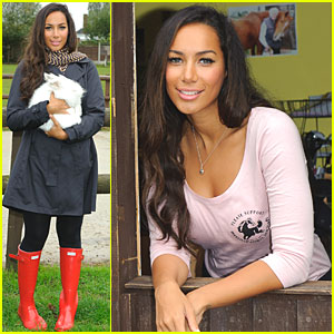 Leona Lewis: Hopefield Animal Sanctuary Visit!