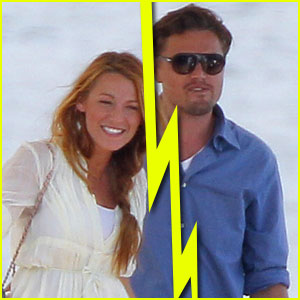 Blake Lively Leonardo Dicaprio Split Blake Lively Leonardo