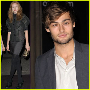 Douglas Booth: Louis Vuitton Art Talk With Grayson Perry!