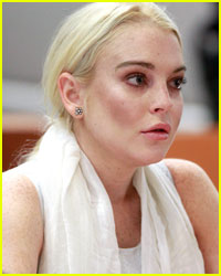 Lindsay Lohan Reports for Morgue Duty