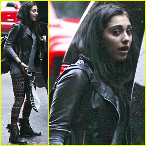 Lourdes Leon Celebrates Her 15th Birthday in NYC!