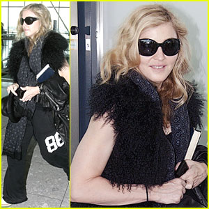Madonna: Back to NYC After 'W.E.' London Premiere