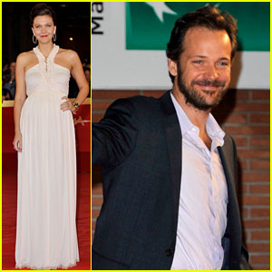 Maggie Gyllenhaal: 'Hysteria' Rome Premiere with Peter Sarsgaard
