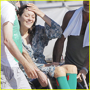 Marion Cotillard: 'Rust and Bone' in South of France!