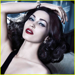 Megan Fox: Armani Beauty Holiday Campaign!