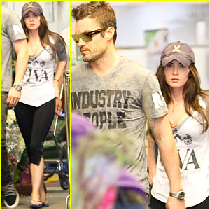 Megan Fox & Brian Austin Green: Whole Foodies!