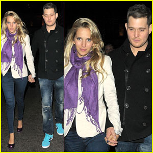 Michael Buble & Luisana Lopilato: London Lovebirds!