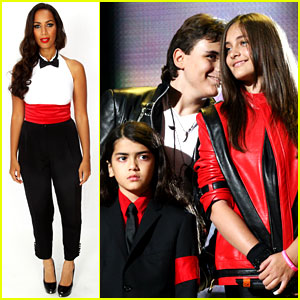 Michael Jackson's Kids Attend His Tribute Concert
