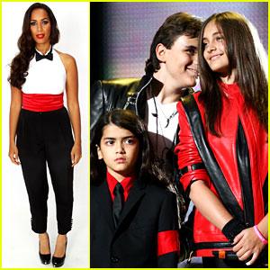 Michael Jackson's Kids Attend His Tribute Concert