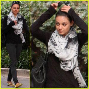 Mila Kunis: 'Elle' Magazine's Hottie Next Door!
