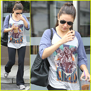 Mila Kunis Works Out in West Hollywood