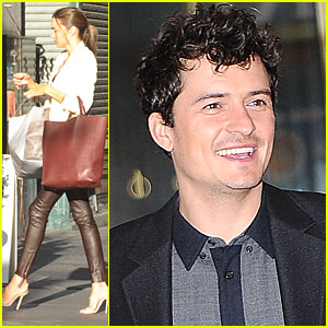 Miranda Kerr & Orlando Bloom: Manhattan Mates