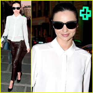 Miranda Kerr Heads Back to Her Hotel