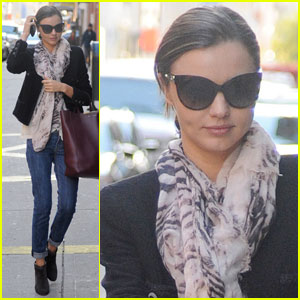 Miranda Kerr: Working Woman in NYC