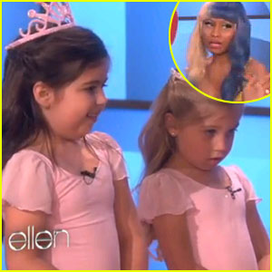 Nicki Minaj Surprises 8-Year-Old Fan on 'Ellen'