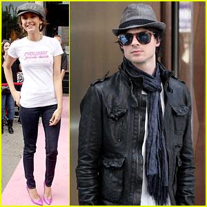 Nina Dobrev & Ian Somerhalder: New York City Weekenders!
