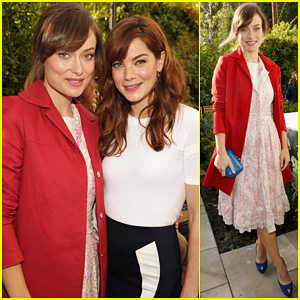 Olivia Wilde: CFDA 'Vogue' Fashion Fund with Michelle Monaghan!