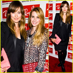 Olivia Wilde: Ray-Ban Raw Sounds Party!