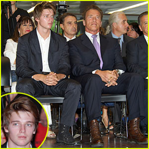 Patrick & Arnold Schwarzenegger: Arnold Classic Europe in Madrid!